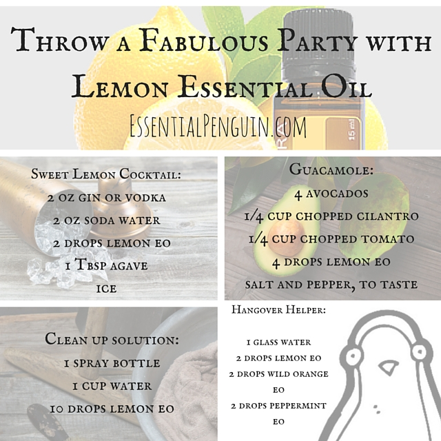 Throw a Fabulous Party with Lemon Essential
