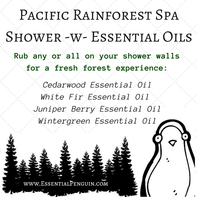 Pacific Rainforest Shower -w- Essential Oils